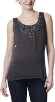 Noppies Women's Top woven sl Ally Crew Neck Sleeveless Maternity Vest Top