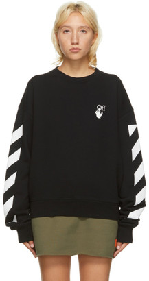Off-White Black Agreement Sweatshirt