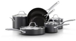 Calphalon Classic Hard-Anodized Aluminum Nonstick 10-Pc. Cookware Set