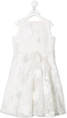 Aletta floral lace pattern dress
