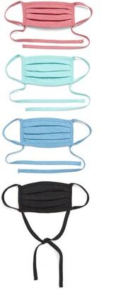 Nordstrom Heathered Non-Medical Adult Face Masks - Set of 4