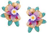 Elizabeth Cole flower earrings