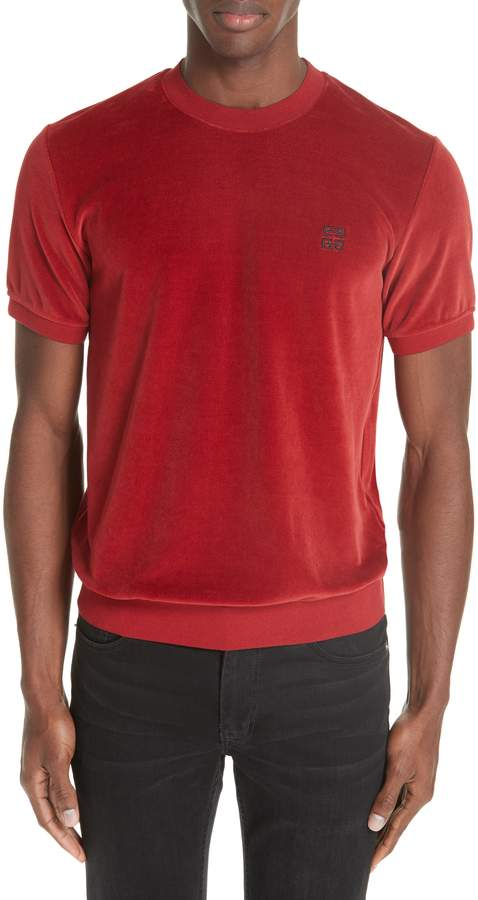 Givenchy Vintage Wash Fleece T-Shirt