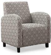 Monarch Hexagon Print Accent Chair