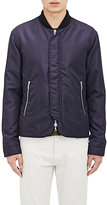 Officine Generale Men's Tech Bomber Jacket-NAVY