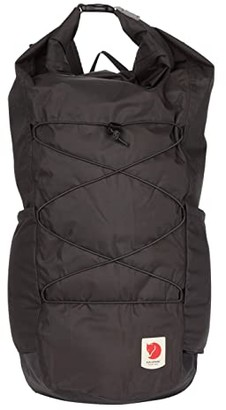 Fjallraven High Coast Rolltop 26 (Dark Grey) Backpack Bags