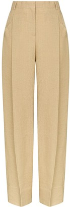 Jacquemus High-Waisted Pleated Trousers