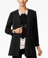Alfani Open-Front Soft-Knit Blazer, Only at Macy's