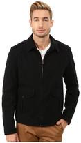 BOSS ORANGE Odilo-W Short Cotton Blouson with Shirt Collar Jacket