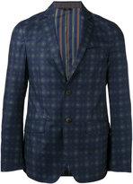 Etro arabesque print blazer - men - Cotton/Polyester/Spandex/Elastane/Cupro - 48