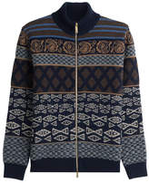 Etro Zipped Wool Jacket
