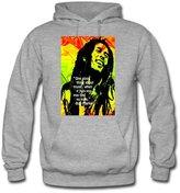 Ccttdiy Men's Bob Marley Hoodies, Popular Bob Marley Sweatshirts