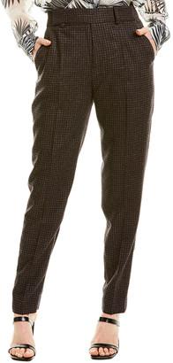 Equipment Warsaw Wool-Blend Trouser