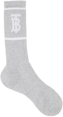 Burberry TB intarsia socks