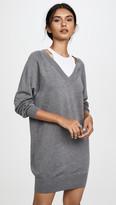 Alexander Wang Bi-Layer Sweater Dress