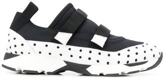 Marni Perforated Panel Sneakers