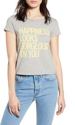 PST by Project Social T Happiness Graphic Tee
