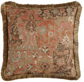 "Legacy Anatolian Empire Pillow, 22""Sq."