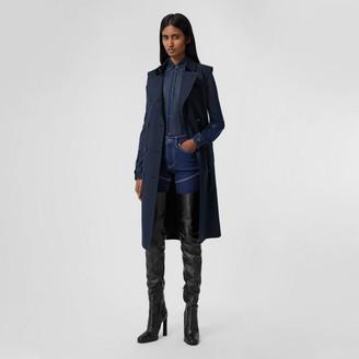 Burberry Cotton Gabardine Sleeveless Trench Coat