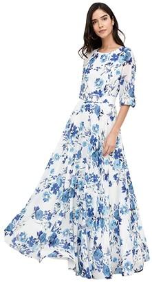 Yumi Kim Hudson Maxi (Bluebird Ivory) Women's Dress