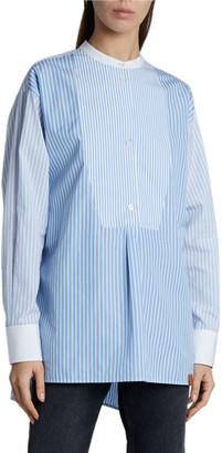 Loewe Patchwork Striped Tunic Top