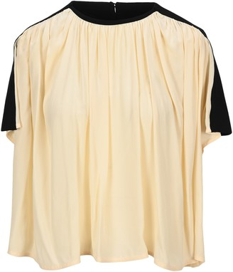 Proenza Schouler Gathered Panelled T-Shirt