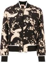 No.21 Japanese print bomber jacket
