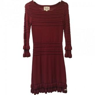For Love & Lemons Burgundy Viscose Dresses