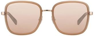 Jimmy Choo Elvas 54MM Rhinestone Square Sunglasses