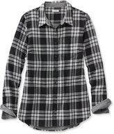 L.L. Bean Doublecloth Flannel Tunic, Plaid