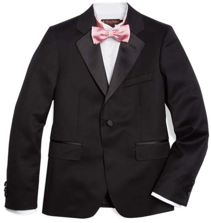 Brooks Brothers One-Button Tuxedo Prep Jacket