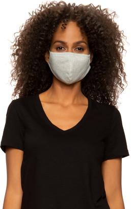Felina Assorted 4-Pack Adult Organic Cotton Contoured Face Masks