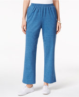 Alfred Dunner Petite Sweet Nothings Pull-On Pants