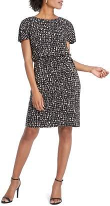 Nic+Zoe Letterpress Twist Knit Dress