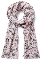 Crew Clothing Jasmine Floral Scarf
