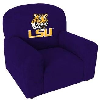 NCAA Stationary Kids Club Chair Baseline Licensing Group NCAA Team: Louisiana State Kid's Chair