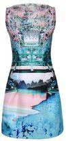 kelly ripa  Who made  Kelly Ripas print dress?
