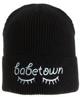 BP Women's Embroidered Beanie - Black