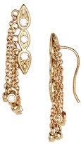 Luv Aj Women's Poise Dangle Crawler Earrings