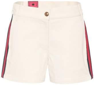 Gucci Web cotton shorts