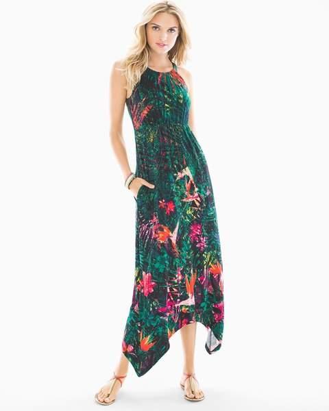 Soma Intimates Sleeveless High Neck Midi Dress