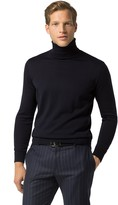 Tommy Hilfiger Tailored Collection Wool Turtleneck Sweater