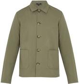 A.P.C. Kerlouan cotton and linen-blend field jacket