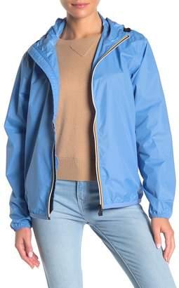 K-Way Claude Front Zip Hooded Jacket