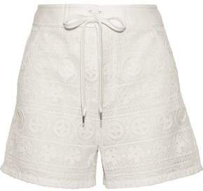 RED Valentino Crocheted Shorts