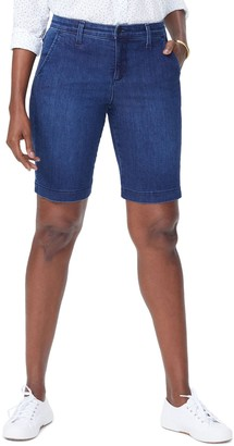 NYDJ Marilyn Stretch Denim Bermuda Shorts (Petite)