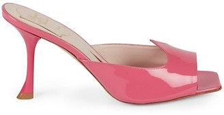 Roger Vivier I Love Vivier Patent Leather Mules