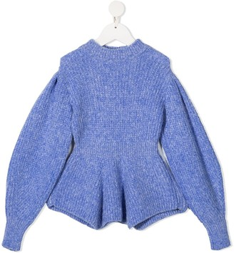 Mariuccia Milano Kids Fitted Knitted Jumper