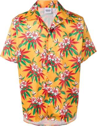 SSS World Corp Hawaiian floral print shirt