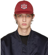 Lanvin Red Star Patch Cap